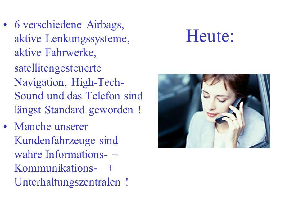 Der Kfz-Servicemechaniker Es wäre wünschenswert, wenn sich dieses Modell in der gesamten Kfz-Branche in Deutschland durchsetzt.