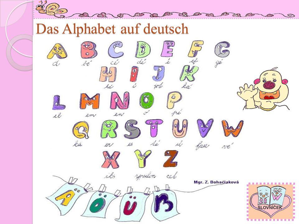 A a, B b, C c, D d, Auto Bär Computer Deutsch E e, F f, G g, H h, Mgr.