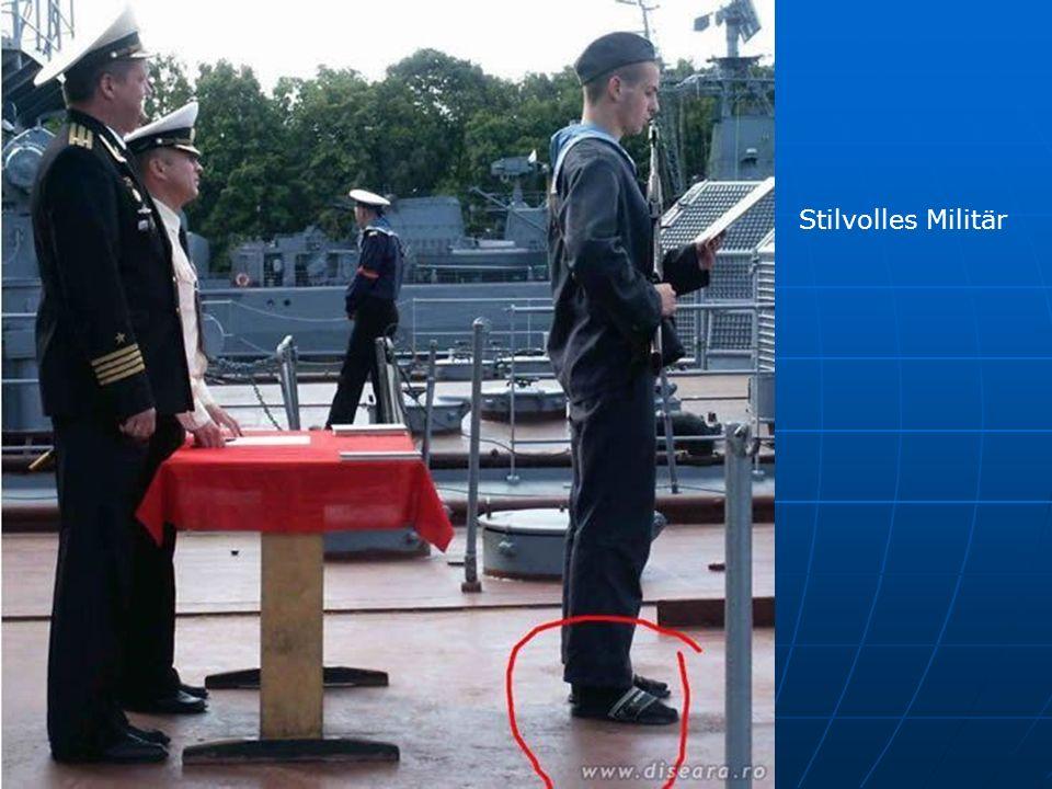 Stilvolles Militär