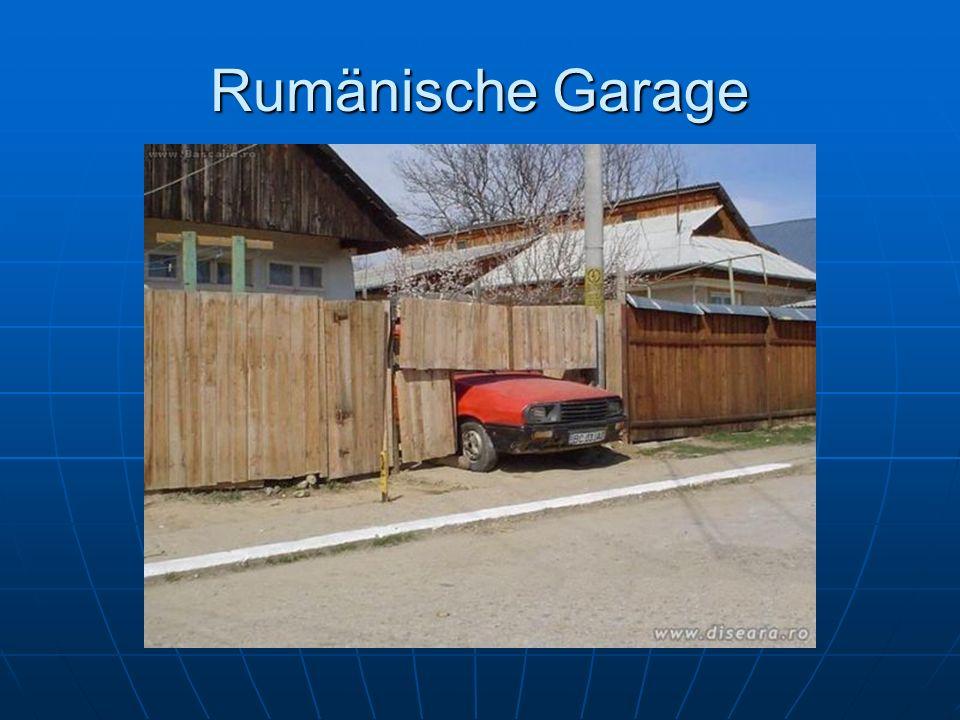 Rumänische Garage