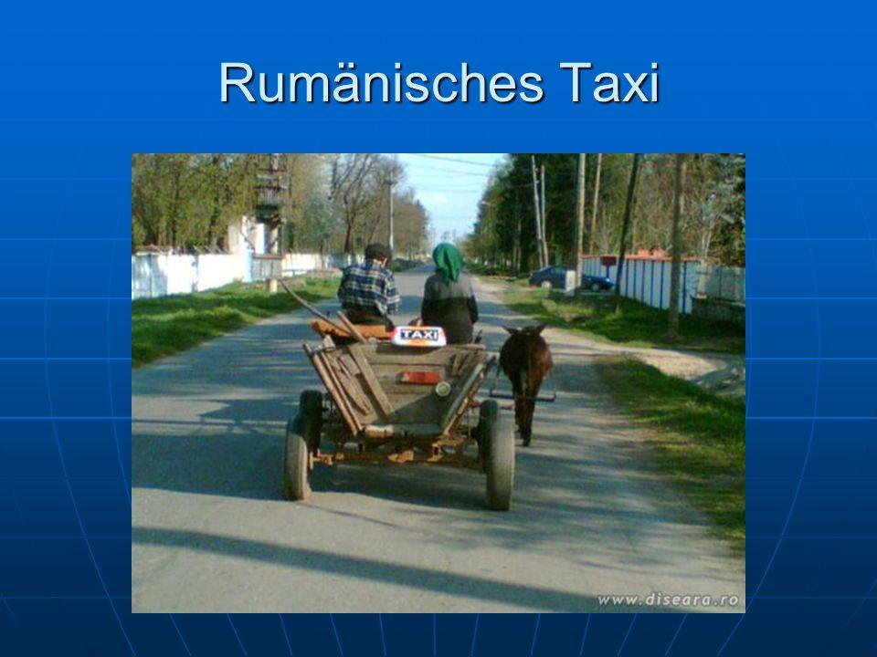 Rumänisches Taxi