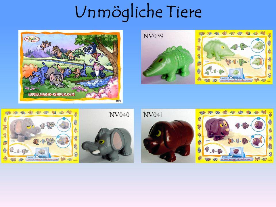 Unmögliche Tiere NV040NV041 NV039
