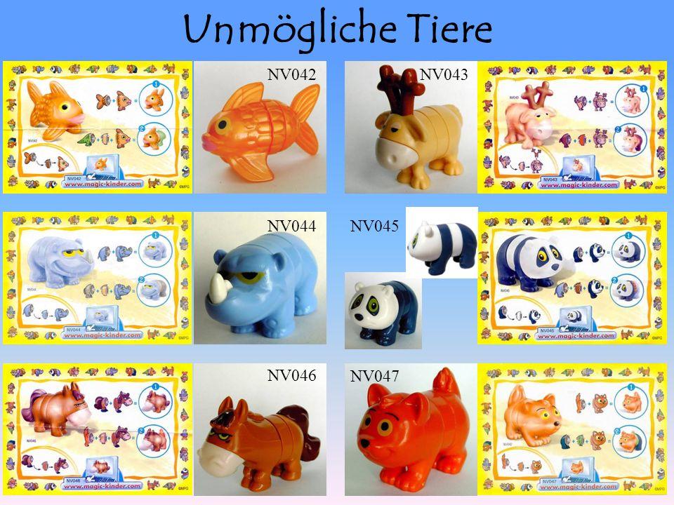 Unmögliche Tiere NV042NV043 NV044NV045 NV046 NV047