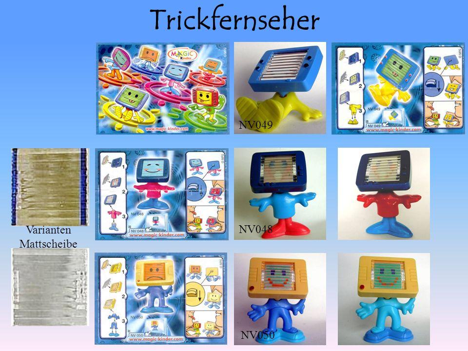 Trickfernseher NV049 NV048 NV050 Varianten Mattscheibe