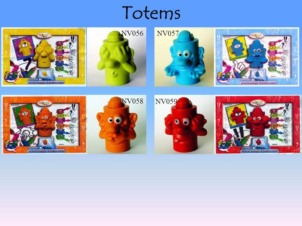 Totems NV058 NV059 NV056NV057