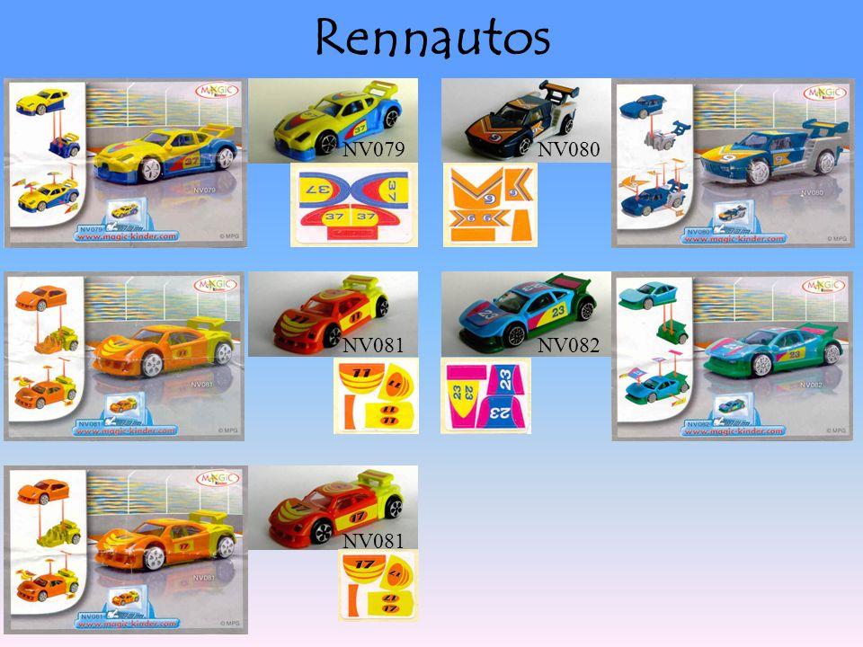 Rennautos NV079NV080 NV081NV082 NV081