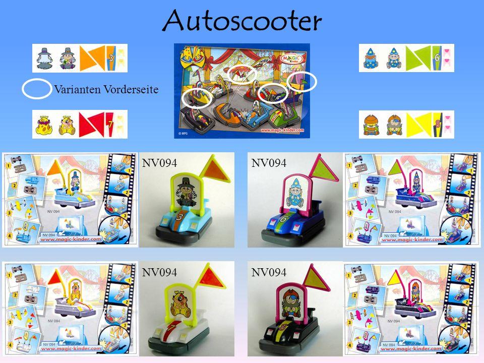 Autoscooter NV094 Varianten Vorderseite