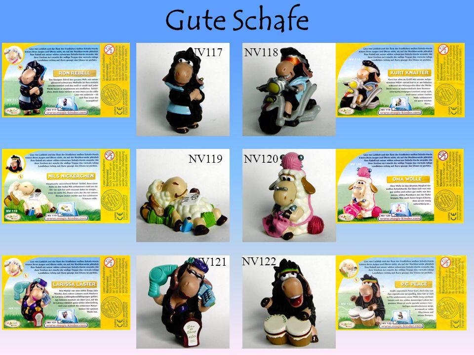 Gute Schafe NV117NV118 NV119NV120 NV122 NV121