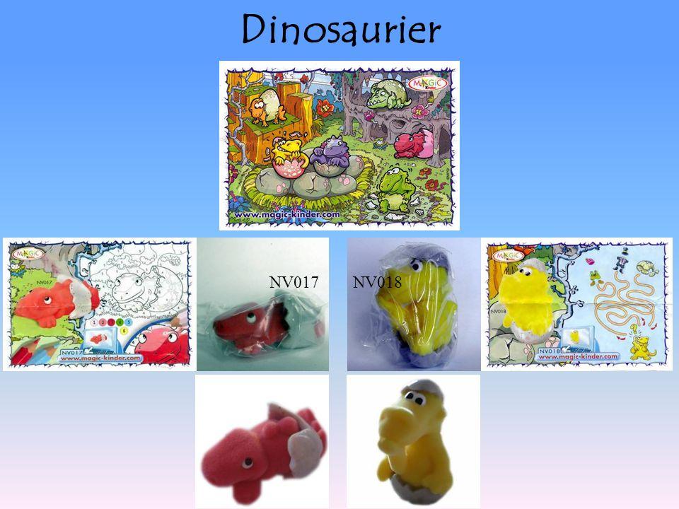 Dinosaurier NV017NV018