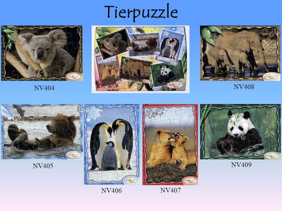 Tierpuzzle NV404 NV407 NV405 NV406 NV408 NV409