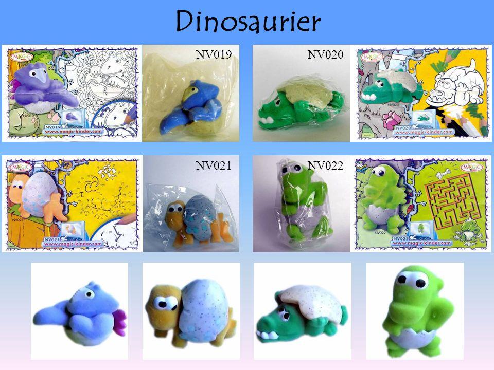 Dinosaurier NV019NV020 NV021NV022