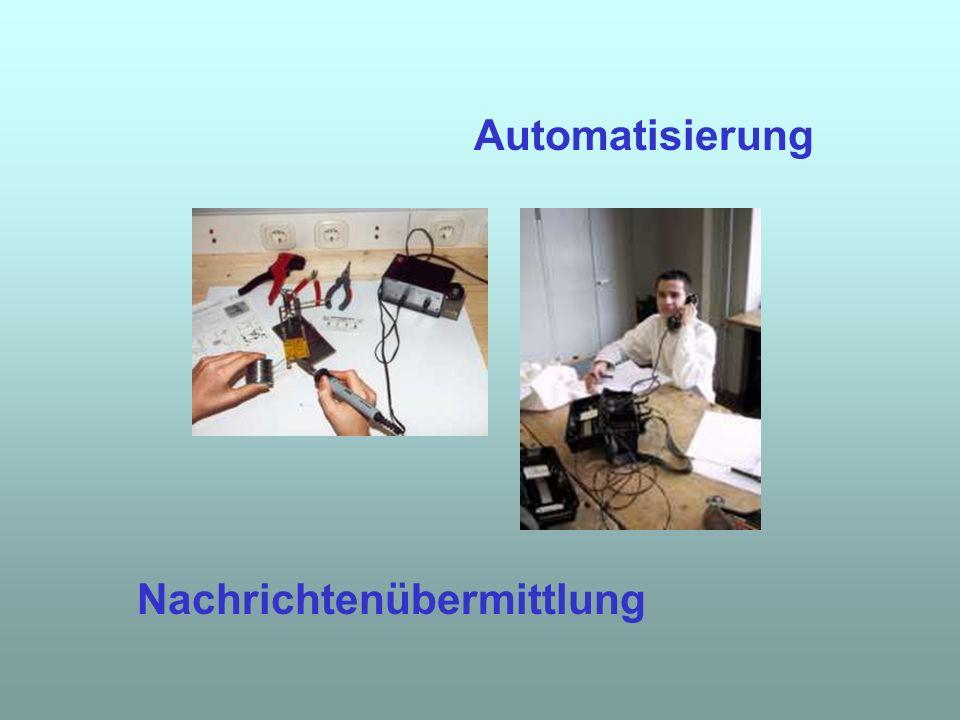 Nachrichtenübermittlung Automatisierung