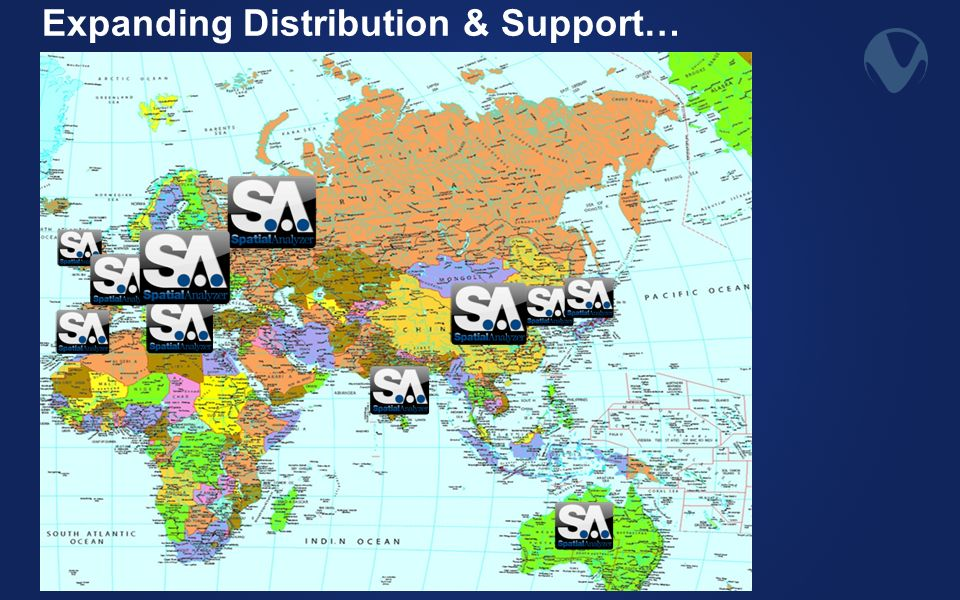 Expanding Distribution & Support…