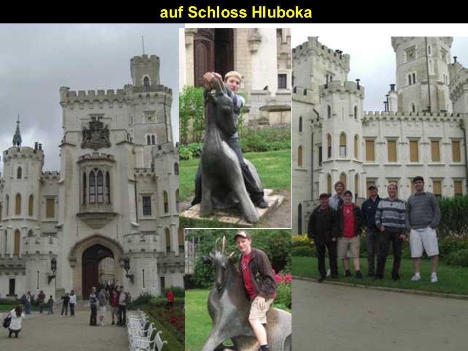 auf Schloss Hluboka