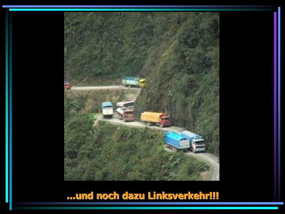 ...und noch dazu Linksverkehr!!!