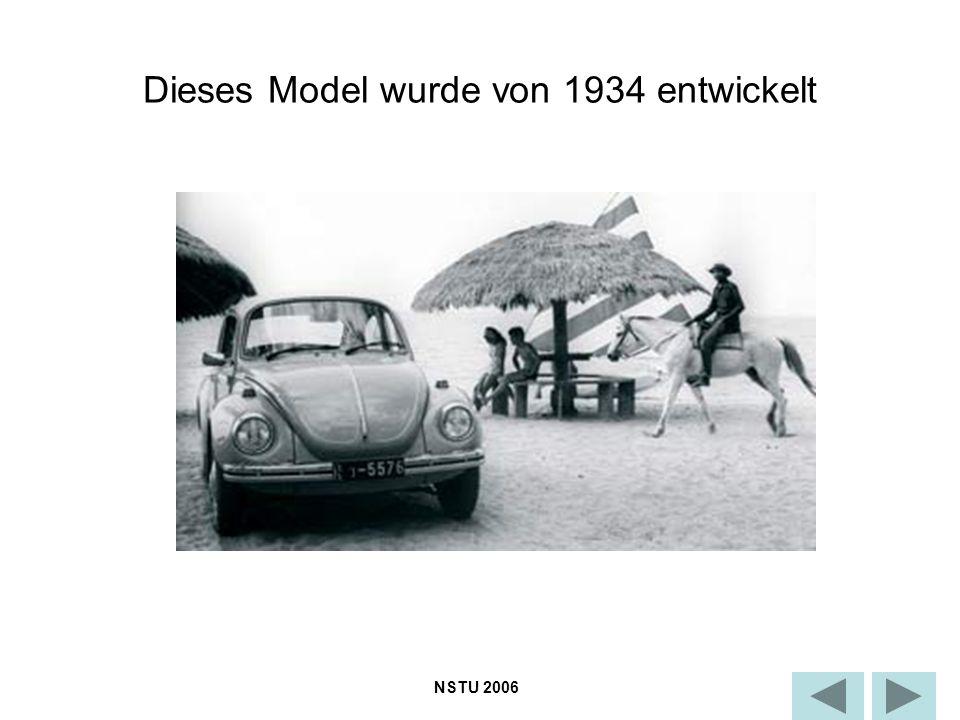 Dieses Model wurde von 1934 entwickelt NSTU 2006