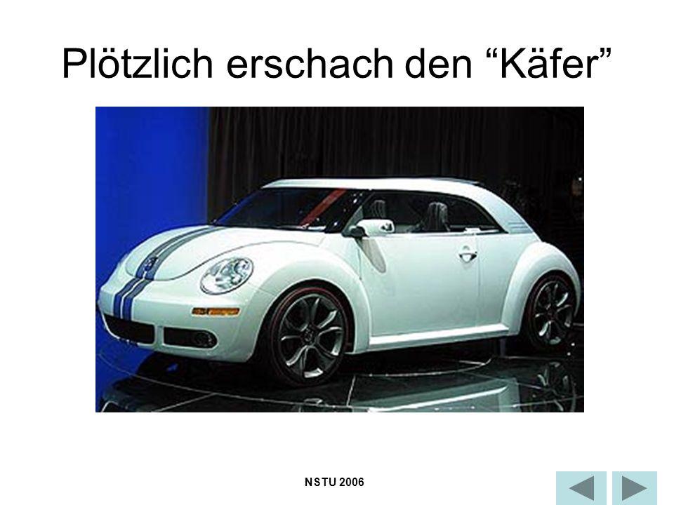 Plötzlich erschach den Käfer NSTU 2006