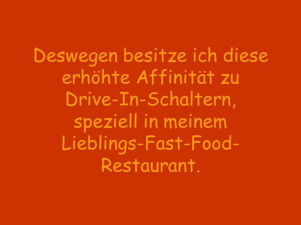 Das Vergnügen an dieser Self-Service-Version des Essens auf Rädern wird allerdings erheblich durch die Qualität der Gegensprechanlage gemindert.