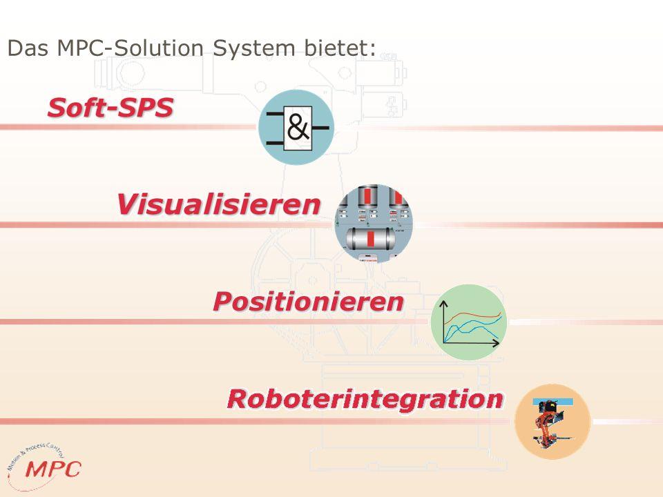 Das MPC-Solution System bietet: