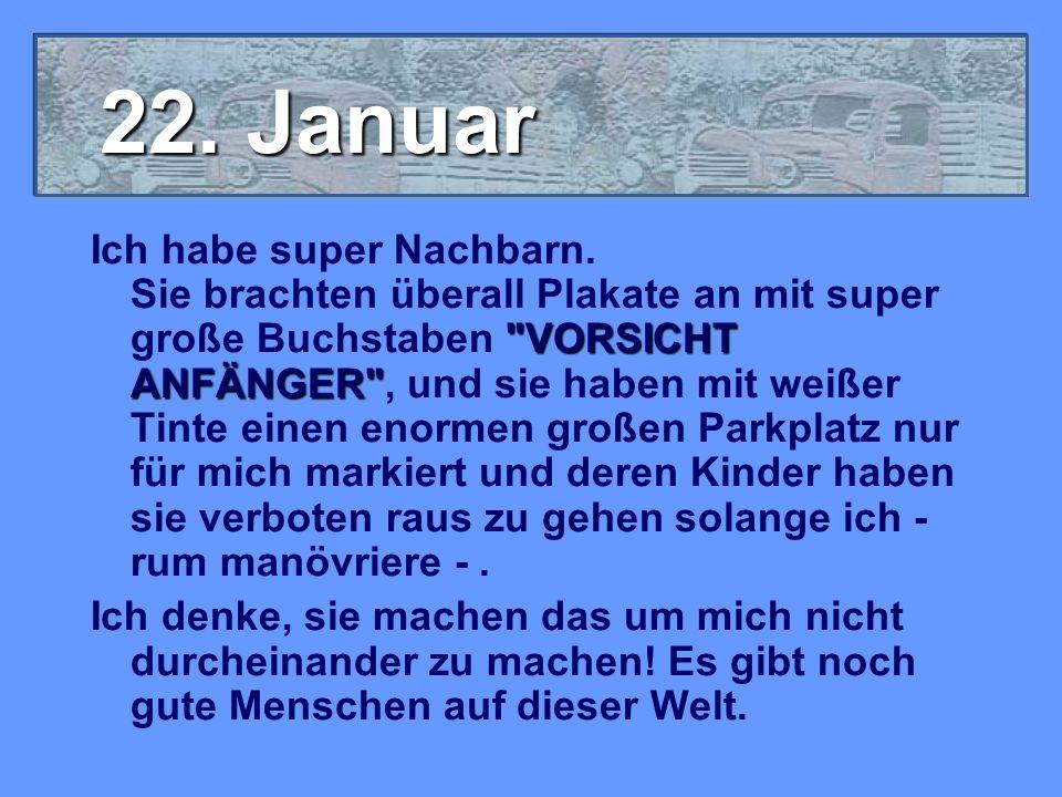 22. Januar
