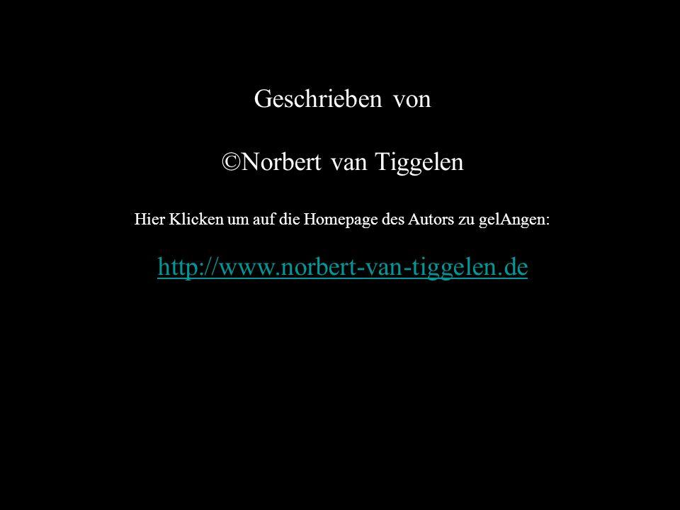 Geschrieben von ©Norbert van Tiggelen Hier Klicken um auf die Homepage des Autors zu gelAngen: http://www.norbert-van-tiggelen.de