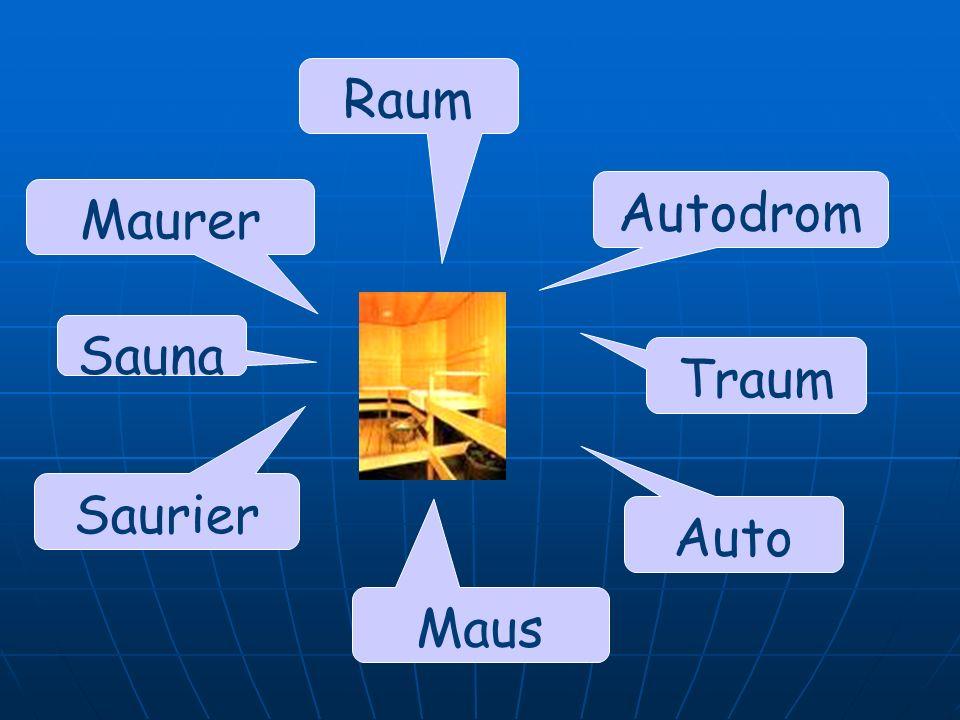 Autodrom Auto Raum Maurer Saurier Maus Traum Sauna
