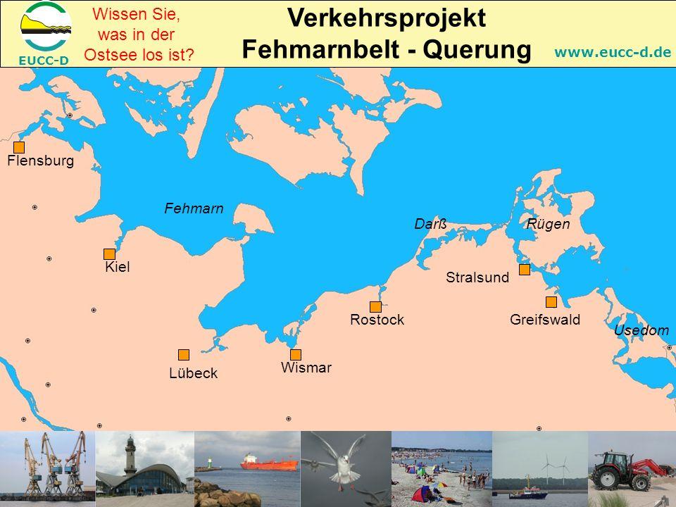 EUCC-D www.eucc-d.de RostockGreifswald Lübeck Kiel Flensburg Fehmarn Rügen Usedom Darß Stralsund Wismar Wissen Sie, was in der Ostsee los ist.