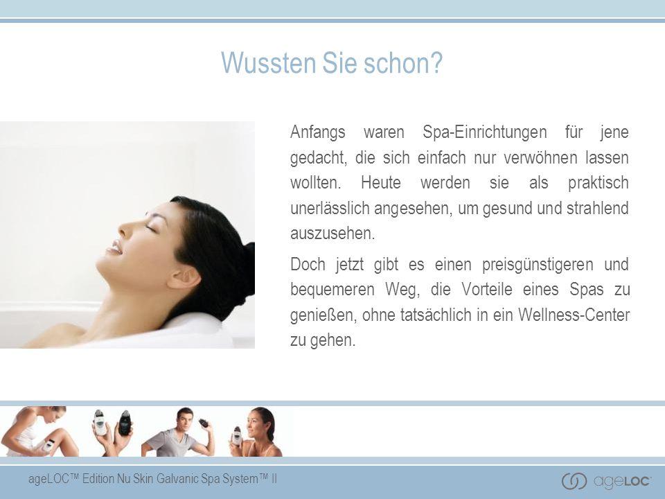 ageLOC Edition Nu Skin Galvanic Spa System II Pre-Treatment Gel Hauptbestandteile Ringelblumenextrakt: beruhigt die Haut.
