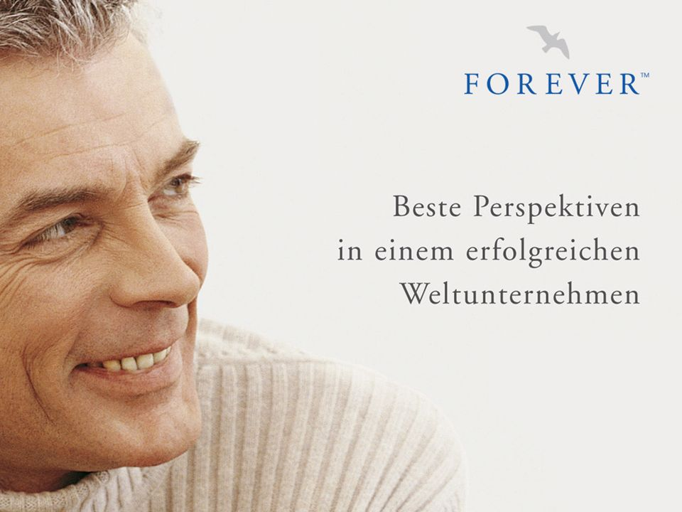 2 / 29 © 2005 Forever Living Products Germany