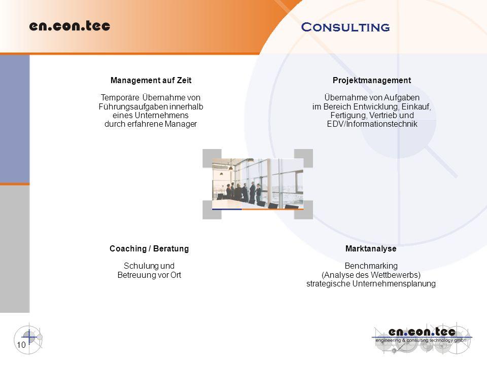 10 Consulting Management auf Zeit Temporäre Übernahme von Führungsaufgaben innerhalb eines Unternehmens durch erfahrene Manager Projektmanagement Über