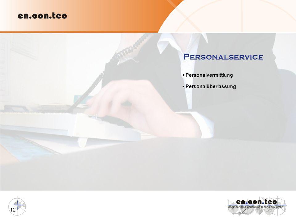 12 Personalservice Personalvermittlung Personalüberlassung