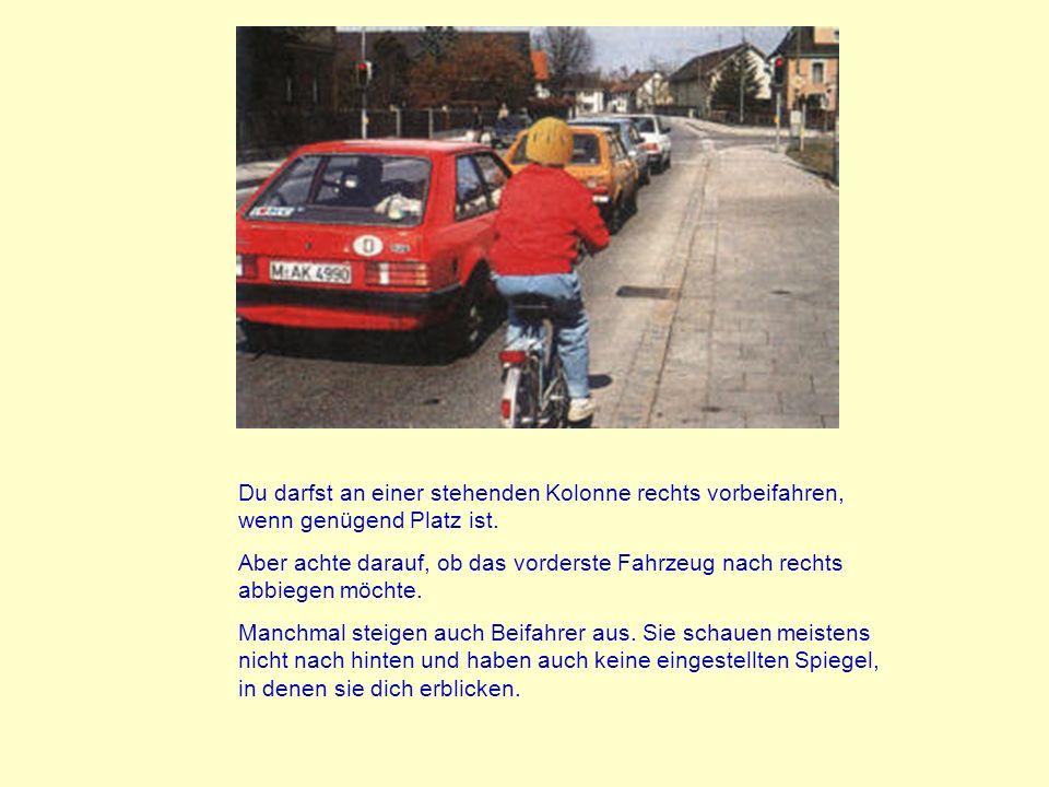 Das wichtigste Teil am Fahrrad, das für die Sicherheit zuständig ist, ist die Vorderradbremse. Der Bremshebel darf auch beim schärfsten Ziehen niemals