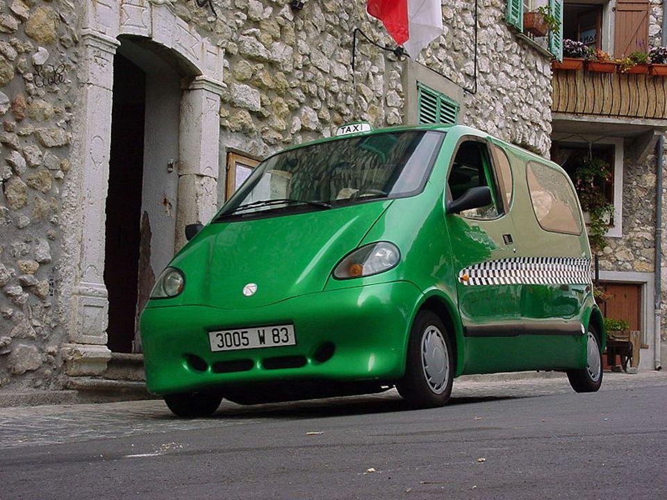 Komprimierte Luft Autos Ein komprimierter Luftfahrzeug ist ein Auto mit alternativen Kraftstoffen betriebenes Auto, das mit einem Motor von Druckluft