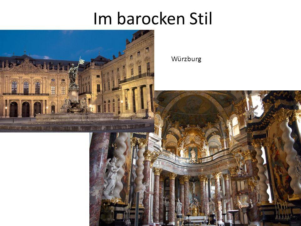 Im barocken Stil Würzburg