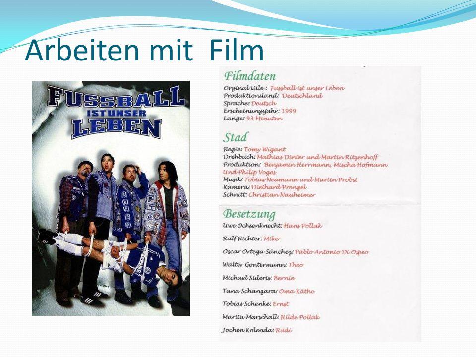 Arbeiten mit Film