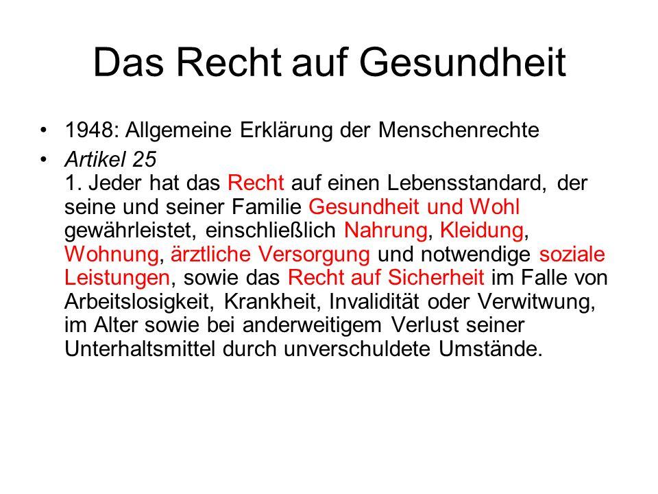 Elemente des Informierten Einverständnisses (1) I.