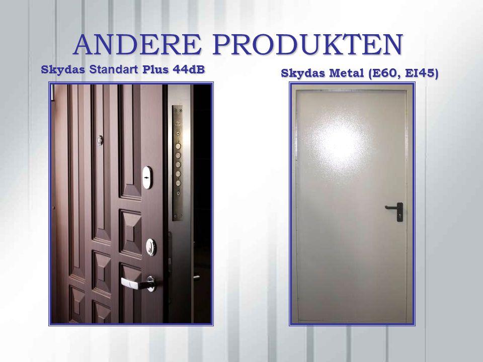 ANDERE PRODUKTEN Skydas Standart Plus 44dB Skydas Metal (E60, EI45)