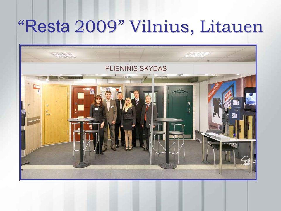 Resta 2009 Vilnius, Litauen Resta 2009 Vilnius, Litauen