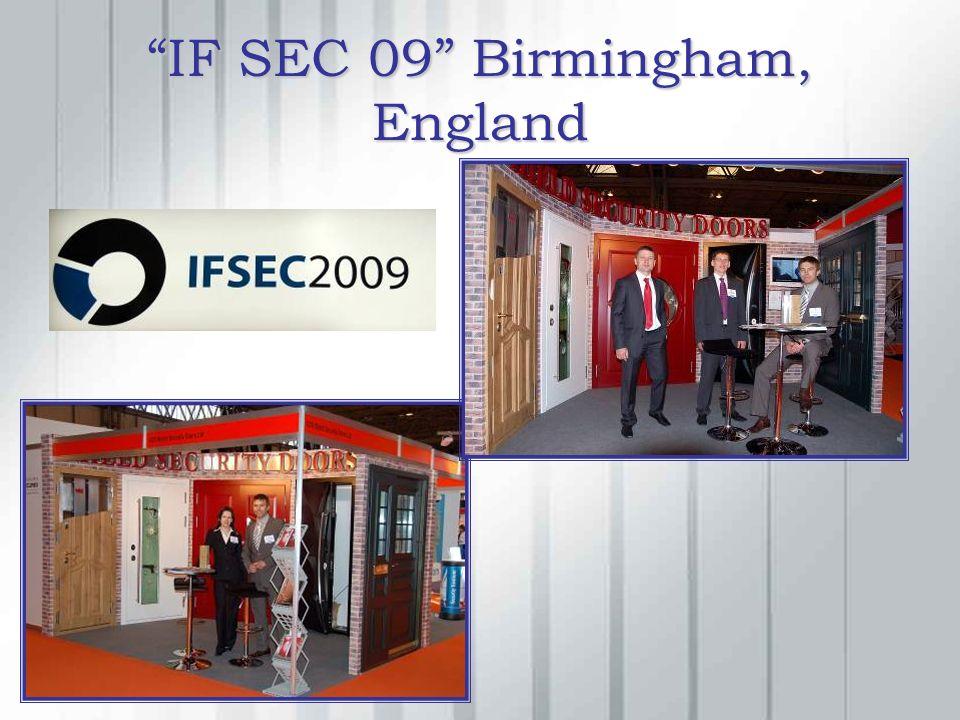 IF SEC 09 Birmingham, England