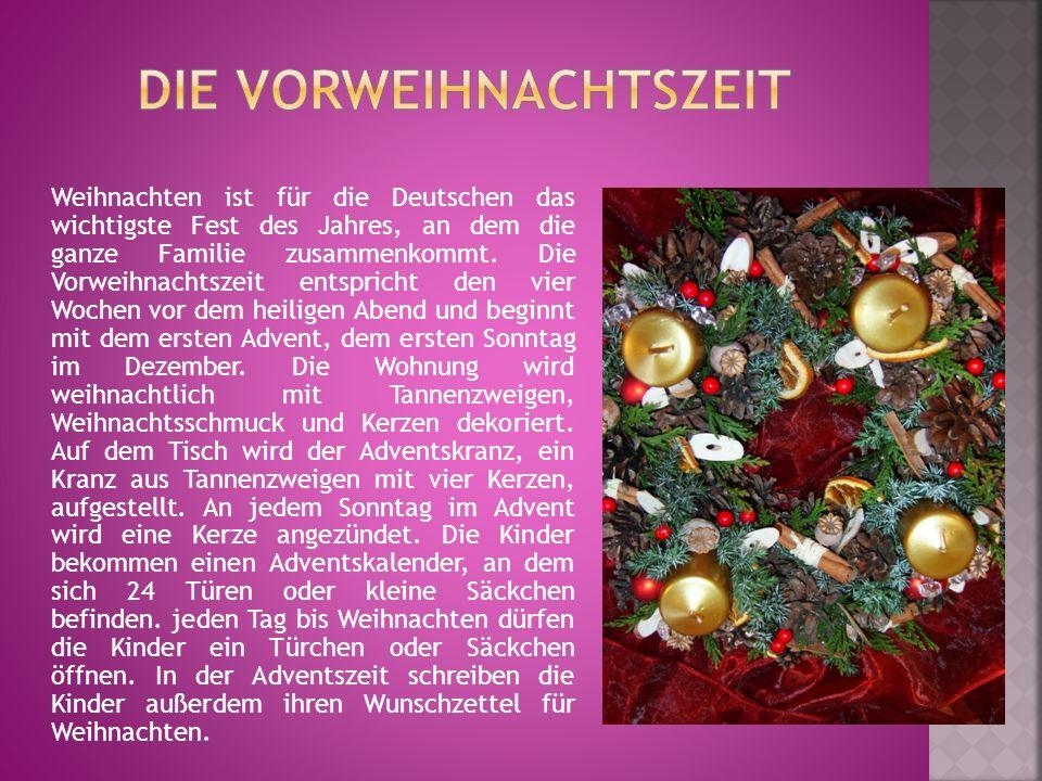Die Weihnachtszeit bietet den Kindern aber noch mehr aufregendes: Am Abend des 5.12.