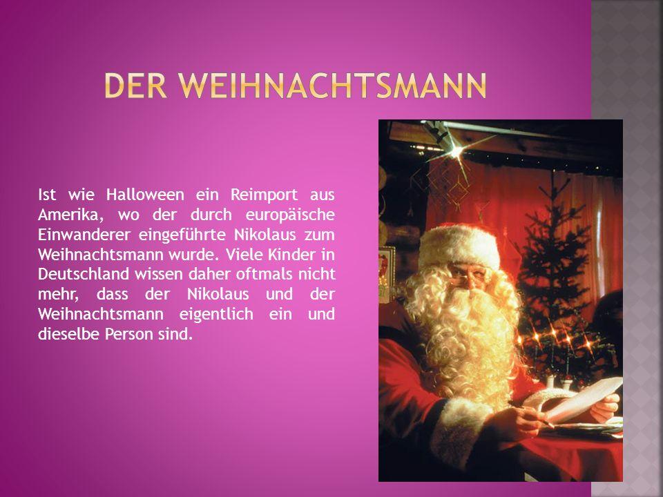 Hinter diesem Begriff verbirgt sich kein spezielles Brauchtum, sondern wunderschöne Handwerkskunst für das Weihnachtsfest.