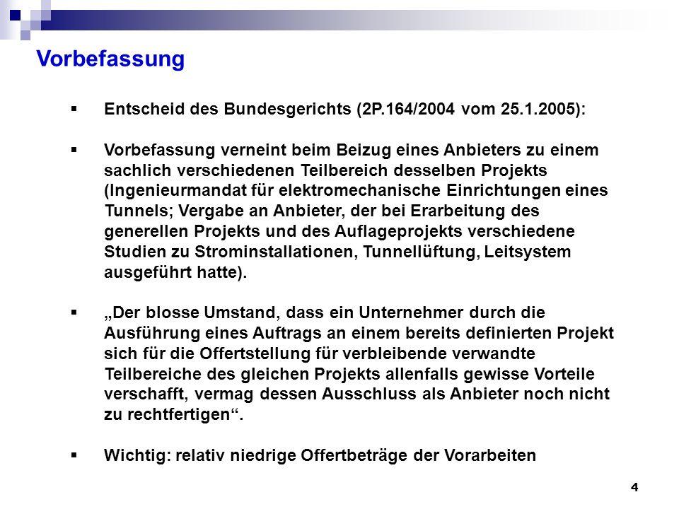 5 Vorbefassung Entscheid des Zürcher Verwaltungsgerichts vom 8.