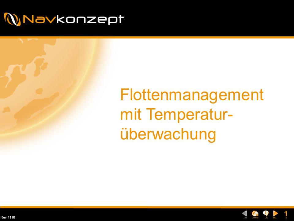 Rev.1110 Flottenmanagement mit Temperatur- überwachung