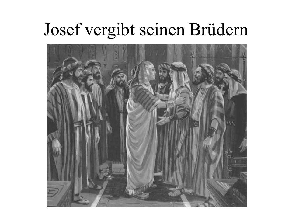 Josef vergibt seinen Brüdern