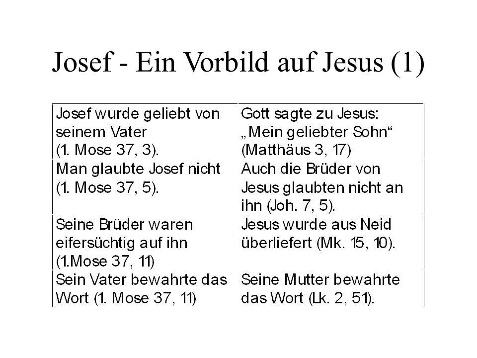 Josef - Ein Vorbild auf Jesus (1)