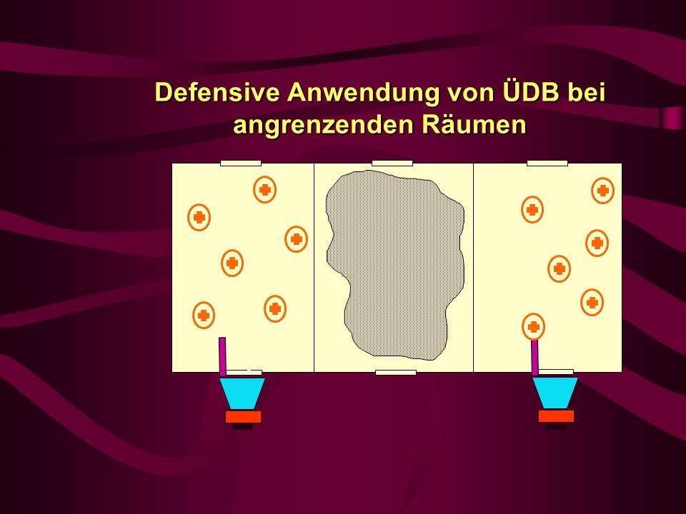 Defensive Anwendung von ÜDB bei angrenzenden Räumen