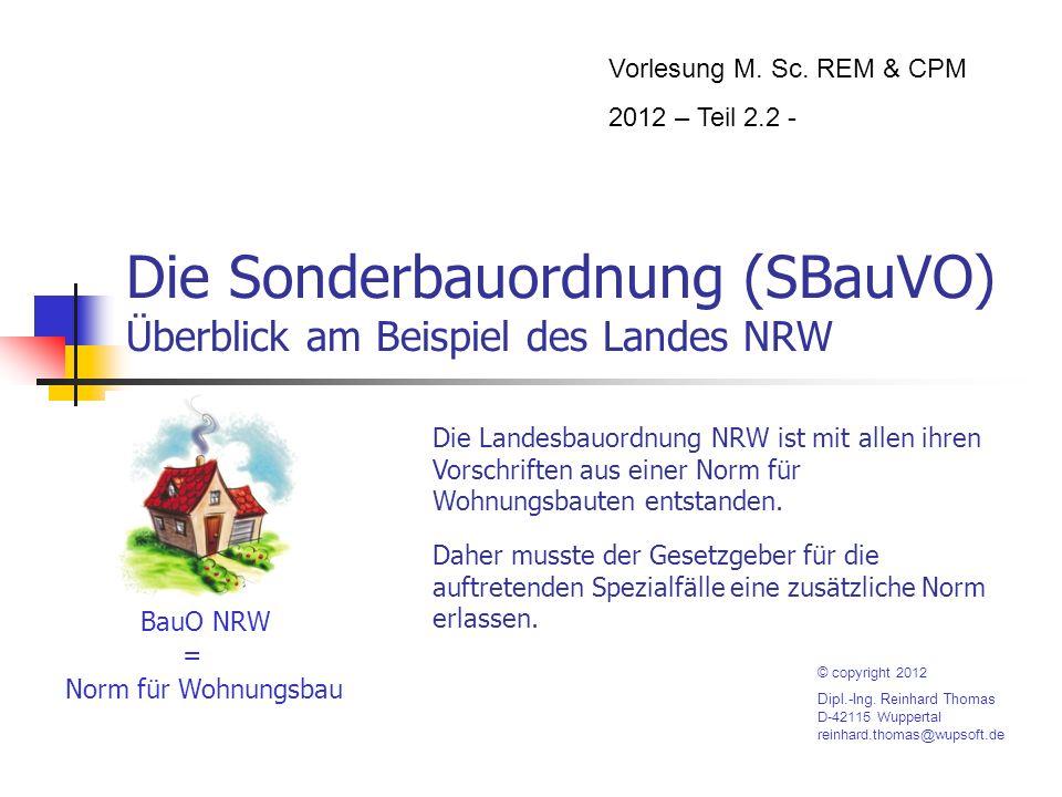 SBauVO im Überblick – Teil 5 – 05/08 Garagen: Fahrgassen und Stellplatzmaße Ein Einstellplatz muss mindestens 5 m lang sein.
