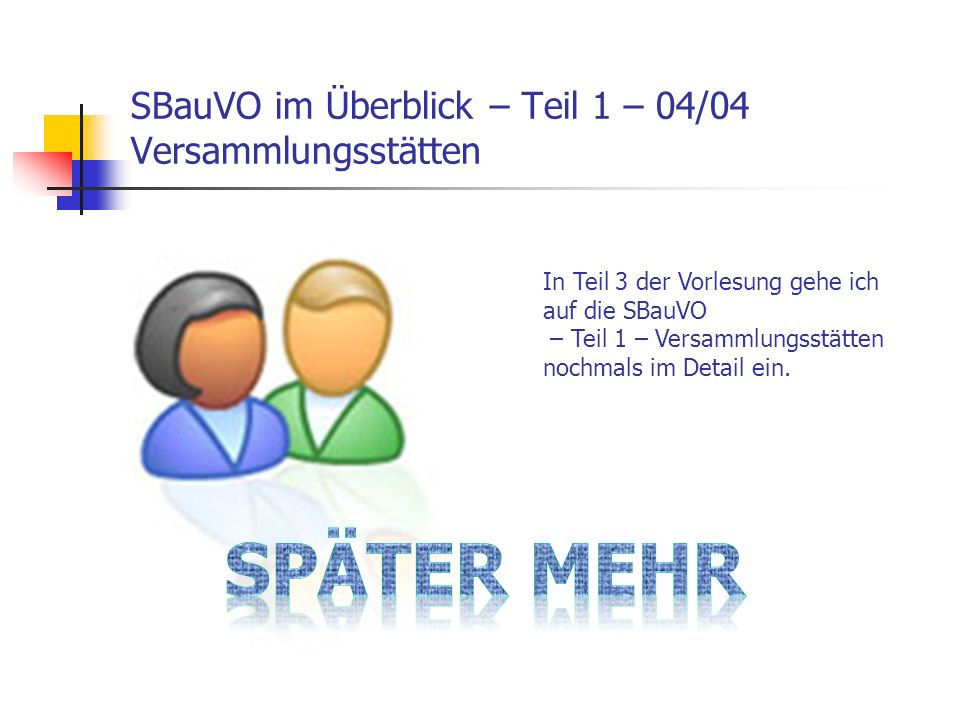 SBauVO im Überblick – Teil 6 – 04/04 Betriebsräume für el.A.