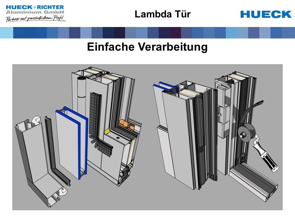 Einfache Verarbeitung Lambda Tür