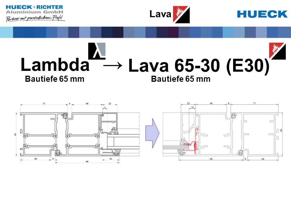 Lava Lambda Lava 65-30 (E30) Bautiefe 65 mm